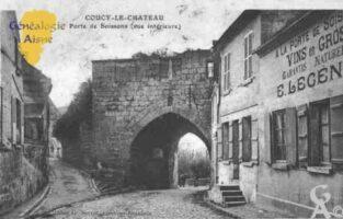 Porte de Soissons (vue intérieure) - Contributeur : Guy Gilkin