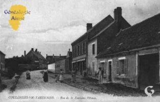 rue de la Fontaine Pèteuse - Contributeur : Guy Gilkin