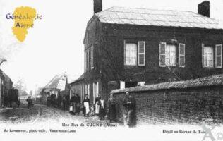 Une Rue de Cugny - Contributeur : Guy Gilkin