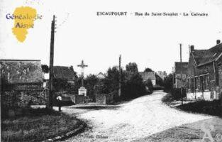 Rue de Saint-Souplet - Le Calvaire - Contributeur : Guy Gilkin