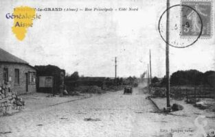 Rue Principale - Côté Nord - Contributeur : Guy Gilkin