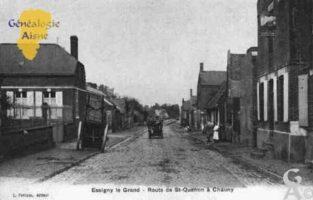 Route de Saint-Quentin à Chauny - Contributeur : Guy Gilkin
