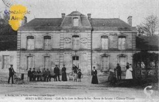 Café de la Gare -  Route de Soissons à Château-Thierry.  - Contributeur : Guy Gilkin
