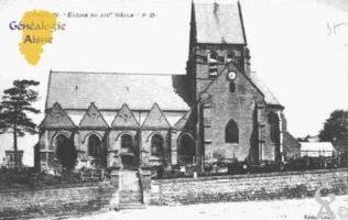 Église du XIVé siècle - Contributeur : Guy Gilkin
