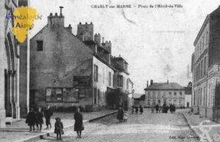 Place de l'Hôtel-de-Ville - Contributeur : Guy Gilkin