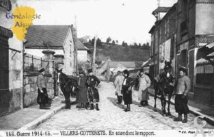 Guerre 1914-1915 - En attendant le rapport - Contributeur : Guy Gilkin