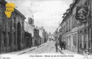 Maison où est né Aléxandre Dumas - Contributeur : Guy Gilkin
