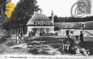 La Forê t- La Maison Neuve où Aléxandre Dumas écrivit Catherine Blum  - Contributeur : Guy Gilkin