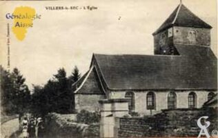L'Église en 1917 - Contributeur : N. Gilbert