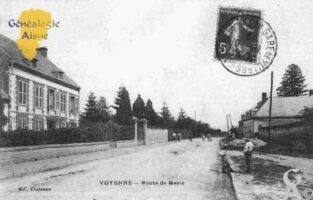 Route de Marle - Contributeur : Guy Gilkin