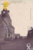 L'église et la Grand-Rue - Contributeur : T.Martin
