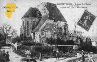 Ruines de l'Église (côté Nord) datant des XIIéme et XIIIéme siècles.  - Contributeur : Guy Gilkin