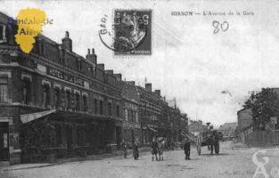 L'Avenue de la Gare - Contributeur : Guy Gilkin