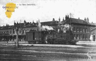 La Gare (Intérieur). - Contributeur : Guy Gilkin