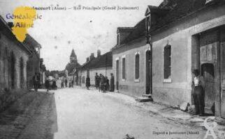 Rue Principale - Grand Juvincourt - Contributeur : Guy Gilkin