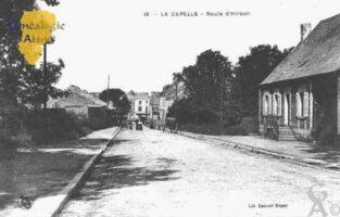 Route d'Hirson - Contributeur : Guy Gilkin