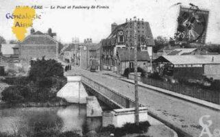 Le Pont et le Faubourg Saint-Firmin - Contributeur : Guy Gilkin