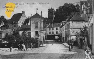 Mairie et rue du Marché - Contributeur : Guy Gilkin