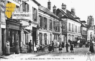 Hôtel du Sauvage - Rue de la Cité - Contributeur : Guy Gilkin