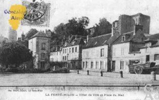 Hôtel de Ville et Place du Mail - Contributeur : Guy Gilkin