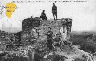 Bataille du Chemin des Dames - Fort de la Malmaison - L'Observatoire - Contributeur : Guy Gilkin