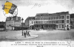 Hôtel du Nord et d'Angleterre - Le Plus Confortable, Chauffage, Bains, Transport Gratuit des Bagages.  - Contributeur : Guy Gilkin