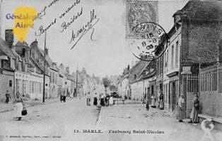 faubourg Saint Nicolas - Contributeur : Jean-Claude Menu