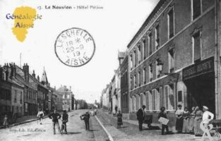 Rue Théodore Blot - Hôtel PETION - Contributeur : Guy Gilkin