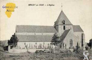 L'Église en 1925 - Contributeur : Nadine Gilbert