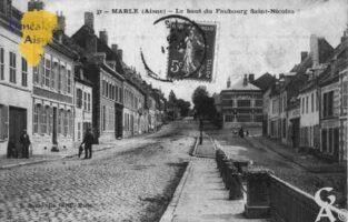 Le Haut du Faubourg Saint-Nicolas - Contributeur : Guy Gilkin