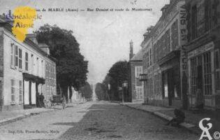 Rue Dessaint et Route de Moncornet - Contributeur : Guy Gilkin