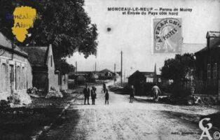 Ferme de Muroy et Entrée du Pays Côté Nord. - Contributeur : Guy Gilkin