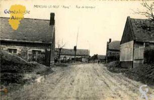 Rue de Vendeuil - Contributeur : M.R. Lavigne