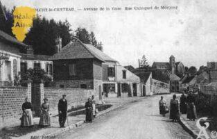 Avenue de la Gare - Rue Quinquet de Monjour - Contributeur : Guy Gilkin