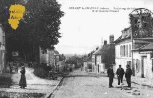 Faubourg de Soissons et Avenue du Prieurè - Contributeur : Guy Gilkin
