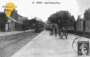 Gare d'Anizy-Pinon - Contributeur : Guy Gilkin