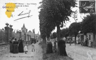 Les Tilleuls - Avenue de la gare - Contributeur : Guy Gilkin