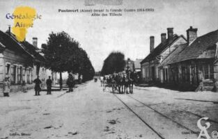Avant la Grande Guerre 1914-1918 - Avenue des Tilleuls - Contributeur : Guy Gilkin
