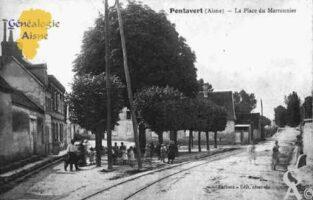 La Place du Marronnier - Contributeur : Guy Gilkin