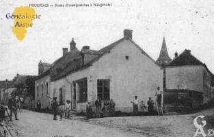 Route d'Amifontaine à Neufchâtel - Contributeur : Guy Gilkin