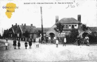 Quessy-Cité - Cité des Cheminots - Rue de la Victoire - Contributeur : Guy Gilkin