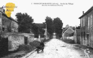 Sortie du village du côté de Château Thierry - Contributeur : Sébastien Sartori