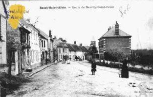 Route de Neuilly-Saint-Front - Contributeur : Guy Gilkin