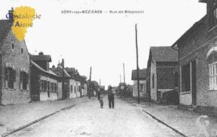 Rue de Ribemont - Contributeur : Guy Gilkin