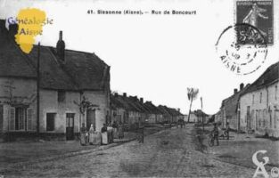 Rue de Boncourt - Contributeur : Guy Gilkin