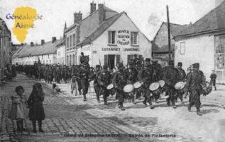 Camp de Sissonne - Entrée de l'Infanterie - Contributeur : Guy Gilkin