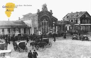 La Gare - Contributeur : Guy Gilkin