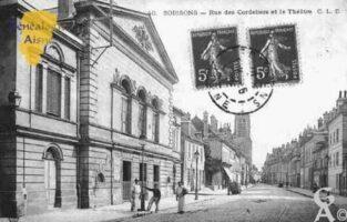 Rue des Cordeliers et le Théâtre - Contributeur : Guy Gilkin