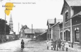 Rue de Pont - Tugny - Contributeur : Guy Gilkin