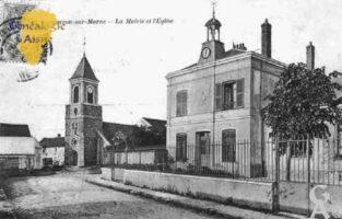Mairie et Église - Contributeur : Guy Gilkin
